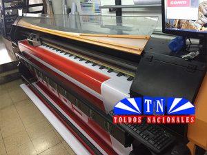 Impresora solvente de gran formato. HD