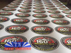 Sticker impresos y troquelados