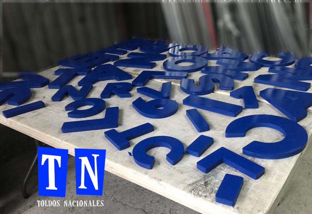 corte de letras