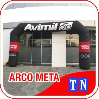 ARCO DE META INFLABLE